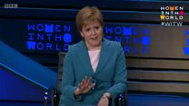 Sturgeon says rape clause 'disgusting'