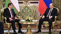 Мирзиёев Кремлда: 'Бунақаси ҳали бўлмаган'