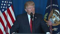 Donald Trump anuncia que ordenó un ataque militar dirigido contra la base aérea en Siria