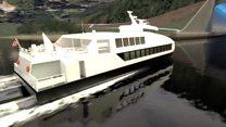 Las imágenes del proyecto del primer túnel para buques del mundo que se construirá en Noruega