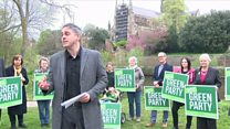 Greens attack 'extreme Brexit'