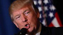 Что Трамп раньше говорил про удары в Сирии?