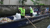 The task of cleaning up Bangkok's canals