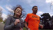 Girl left blind at 17 to run London Marathon