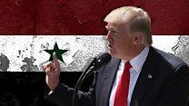 What is Trump's plan in Syria?