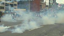 سومین روز پیاپی از تظاهرات علیه دولت ونزوئلا
