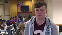 Teen tech entrepreneur on coding mission