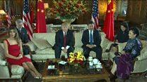 روسای جمهوری چین و آمریکا  گفت و گو کردند