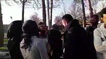 """دونده زن خارجی: """"این همه راه نیامدهام که ده کیلومتر دور دریاچه بدوم"""""""