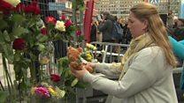 Stockholm eyewitnesses revisit scene