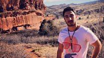 گفتگو با دانشجوی ایرانی که پلیس آمریکا با پابند به زندان فرستاد
