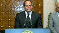 إعلان حالة الطوارئ في مصر بعد تفجيري كنيستي طنطا والاسكندرية