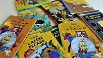 Ilustrasi langka 'Tintin' terjual seharga Rp10 miliar