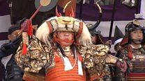 Парад самураев в Японии: назад в древность