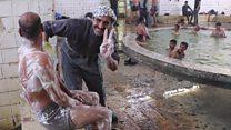 حمام العليل: ملاذ للعراقيين بعيدا عن المعارك