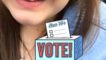 Snapchat filter to boost young voters