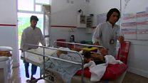 مشکلات  دسترسی به خدمات ابتدایی پزشکی در افغانستان