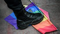 Reports of imprisonment and torture of homosexuals in Chechnya