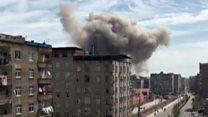 جرحى في انفجار بمدينة ديار بكر التركية