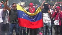 Venezuela police clash with protesters