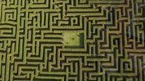 Step inside Spain's largest maze
