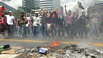 Tiếp tục biểu tình ở Venezuela