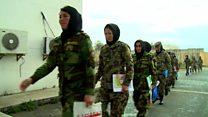 رشد 35 درصدی مشارکت زنان افغان برای خدمت در ارتش