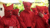 El Salvador'da 'günahtan arınma' törenleri