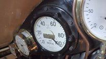 Britain's newest steam locomotive makes railway history