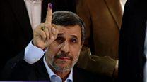 أحمدي نجاد يتقدم رسميا لخوض الانتخابات الرئاسية الإيرانية