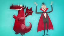 The 'dragons' and 'vampires' helping us heal