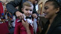 Boy, 4, 'youngest circus ringmaster'