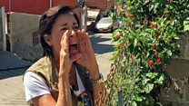 Los gritos con los que la madre del opositor Leopoldo Lopez se comunica con su hijo preso en Venezuela