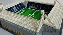 A man's mission to build all 92 English League grounds out of Lego