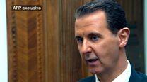 الأسد: الهجوم الكيمياوي على خان شيخوم مفبرك