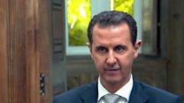 """الأسد: الهجوم الكيمياوي على خان شيخون """"ملفق"""""""