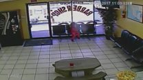 Girl narrowly escapes barbershop gunfire
