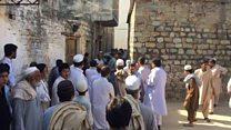 مشعل خان کا جنازہ اور تدفین