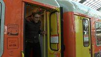 ဂျာမနီက ရထားဝန်ဆောင်မှု