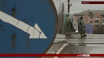 ادامه درگیریهای پراکنده بین نیروهای اوکراین و شبه نظامیان جدایی طلب حامی روسیه