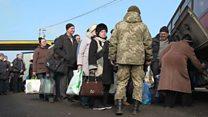 ТВ-новости: в зоне конфликта на Украине через три года после его начала