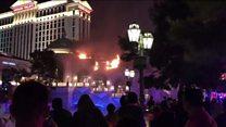 """Пожар в казино """"Белладжио"""" в Лас Вегасе"""