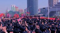 КНДР: массовый праздник в честь новой улицы