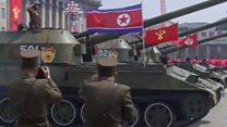 جنوبی کوریا کی فوجی طاقت کا مظاہرہ