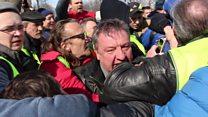 Задержание дальнобойщиков в Петербурге