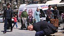 آخرین روز تبلیغات همه پرسی قانون اساسی ترکیه؛  اردوغان در جمع هوادارانش