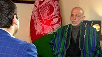 حامد کرزی: استفاده آمریکا از 'مادر بمبها' حمله به خاک افغانستان بود