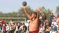 Ancient ball game gets a replay