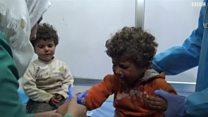 ارتفاع عدد ضحايا تفجير حافلات نازحي كفريا والفوعة غربي حلب إلى أكثر من مئة