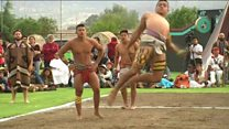 แข่งบอลโบราณในเม็กซิโก